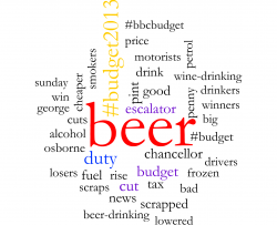 beer in the budget 2013