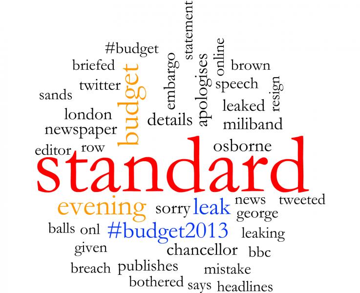 Standard Budget leak