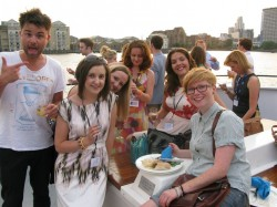PRCA boat party