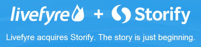 Livefyre acquires Storify