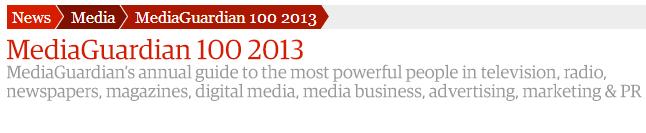 MediaGaurdian 100 2013