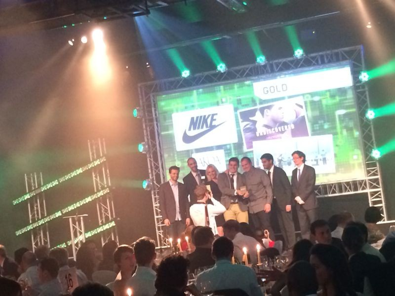 Nike taking home their prize
