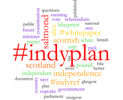 Scottish Independence white paper on social media