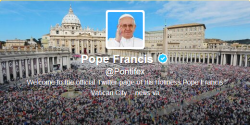 Pope Francis via Twitter