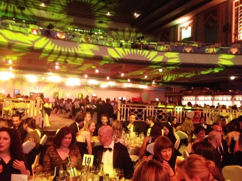 Over 500 people attended the South Golden Hedgehog Awards in London