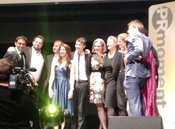 Brands2Life picking up the 'Large Agency of the Year' award