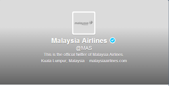 malaysia airlines twitter