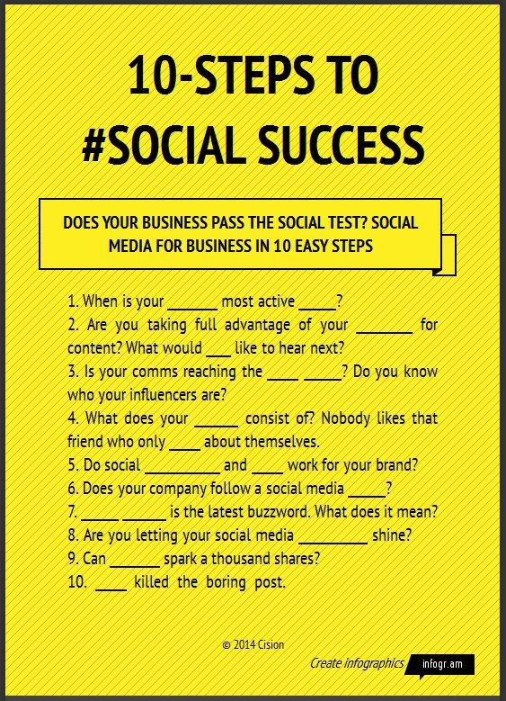 10-Steps to social Success