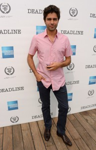 Adrian Grenier at Deadlines Cocktails on the Croisette