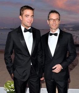 Robert Pattinson and Guy Pearce at The Rover Official Cocktail Party