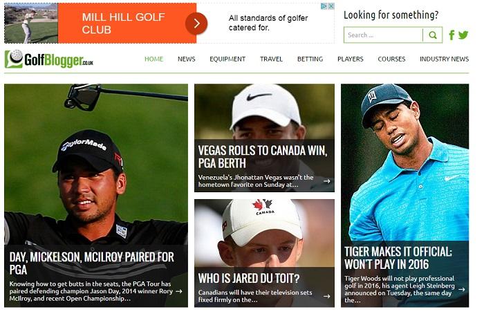 Golf Blogger