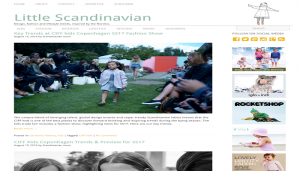 Little Scandinavian - Children's Fashion and Lifestyle Blogs 1