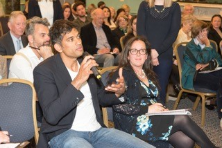 Thea Jourdan and DR Rangan Chatterjee (BBC Doctor in the House)