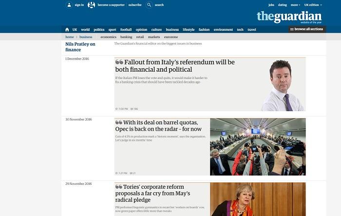 Guardian online dating blog sites