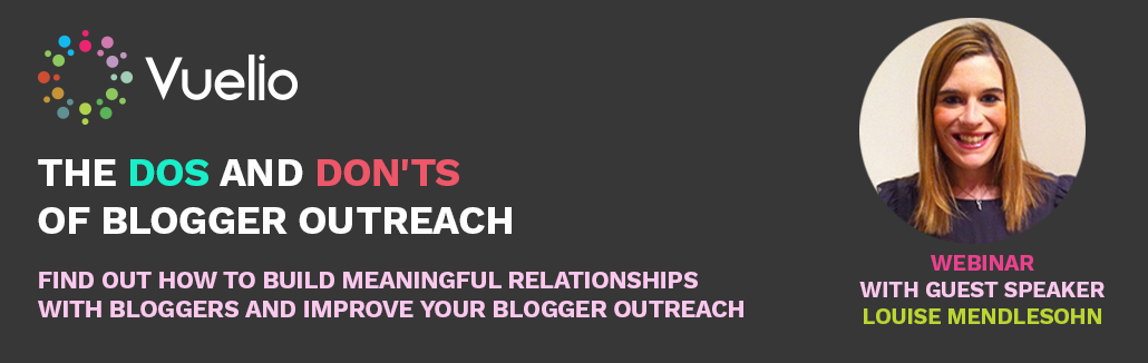 Dos and dont's of blogger outreach
