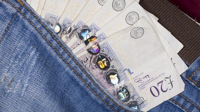 A pocket full of cash