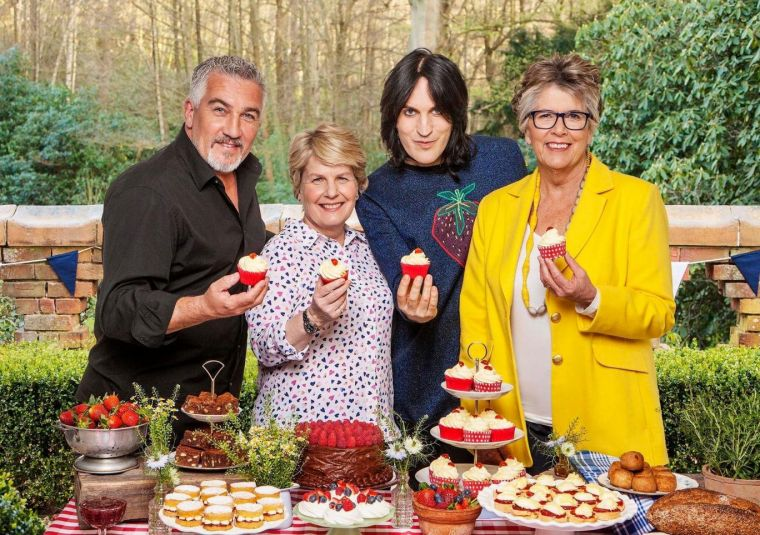 Bake Off hosts