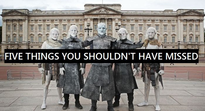 Game of thrones, whitewalkers