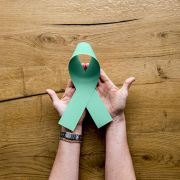 Organ donation ribbon