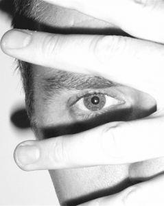Justin Myers' eye