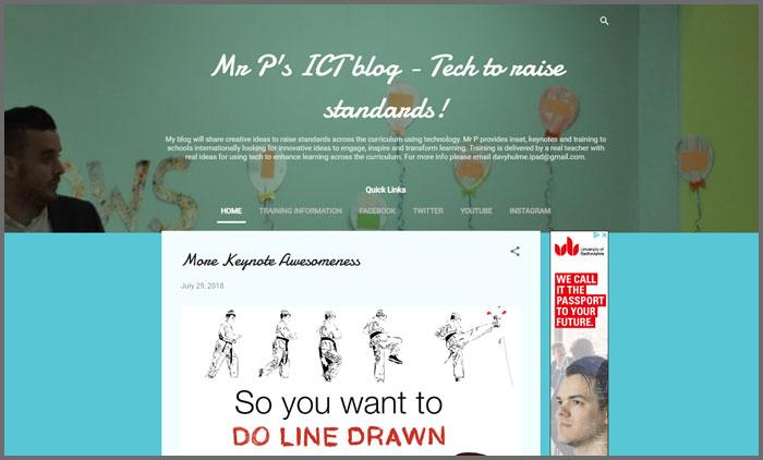 Mr P's ICT Blog