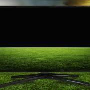 TV on field of sport