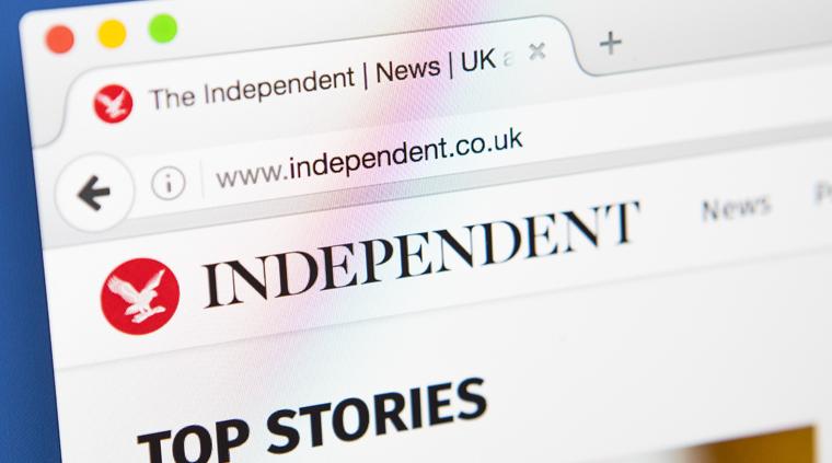The independent website
