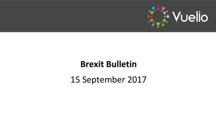 Brexit bulletin