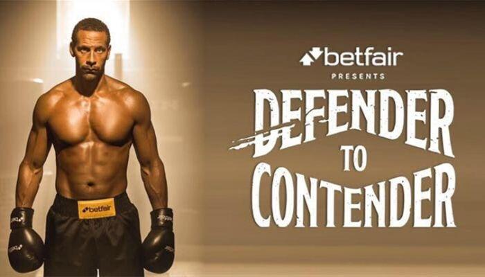 Rio Ferdinand boxer