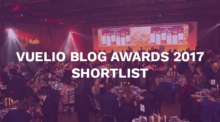 Vuelio Blog Awards finalists