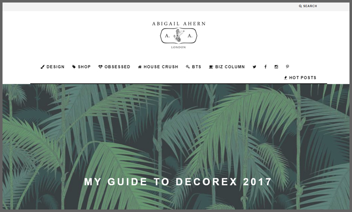 Interior Design Blog Ranking Abigailahern