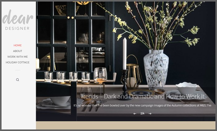 Interior Design Blog Ranking Deardesigner