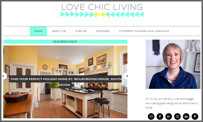 Interior Design Blog Ranking Lovechicliving