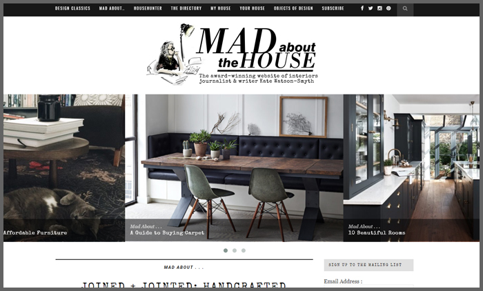 Interior Design Blog Ranking Madaboutthehouse