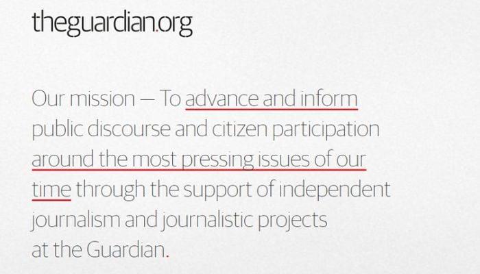 Guardian charity