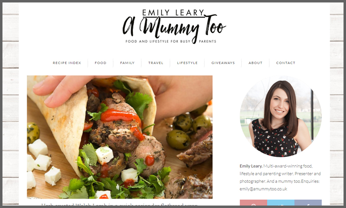 Food blogs uk top 10 vuelio vuelio top 10 food blog ranking amummytoo forumfinder Image collections