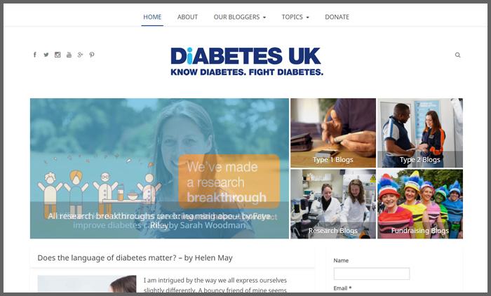 vuelio-top-10-charity-blog-ranking-diabetesukblogs
