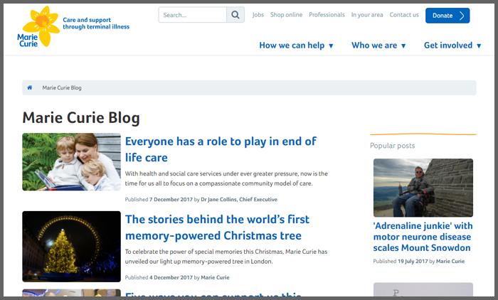 vuelio-top-10-charity-blog-ranking-mariecurieblog