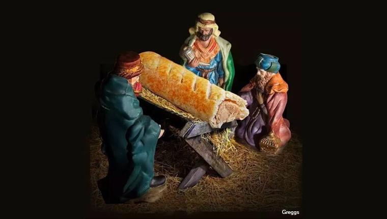 Sausage rolls greggs