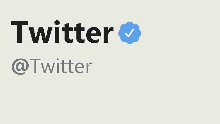 Twitter verified blue tick