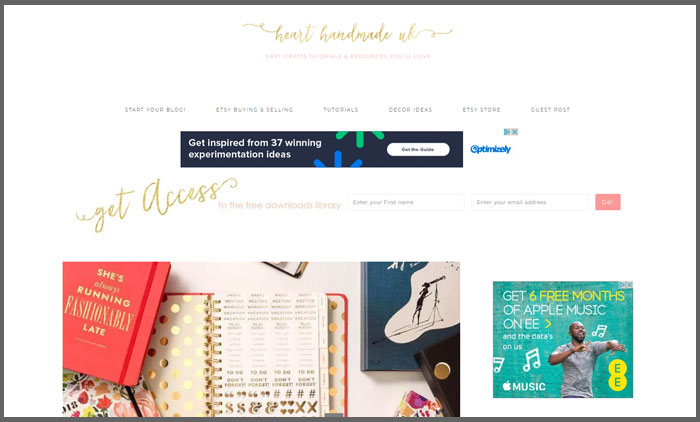 heart-handmade-uk-vuelio-top-10-craft-blogs