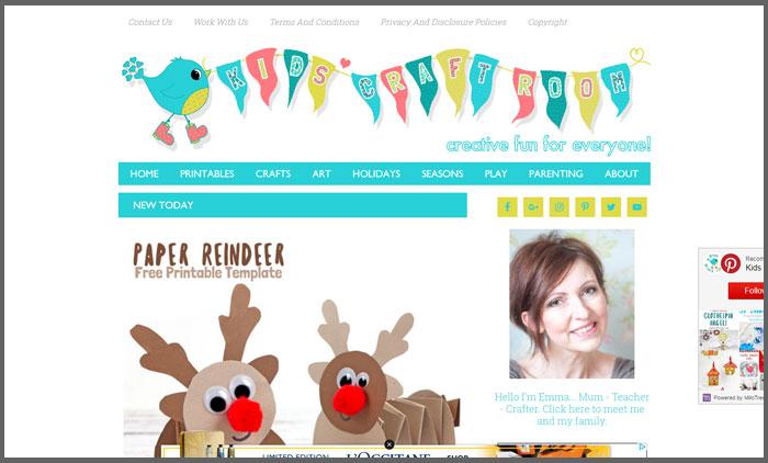 kids craft room vuelio top 10 craft blogs
