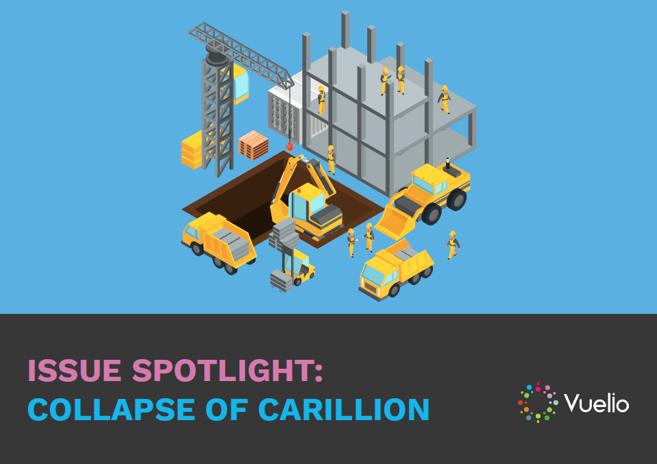 Issue Spotlight - Collapse of Carillion