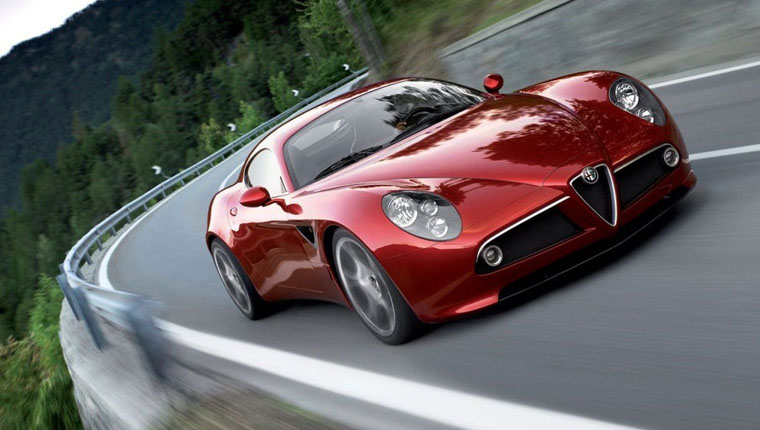 Alfa Romeo 8C Supercar