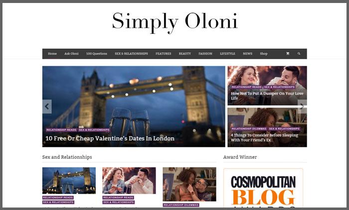 Vuelio relationship blog ranking simplyoloni