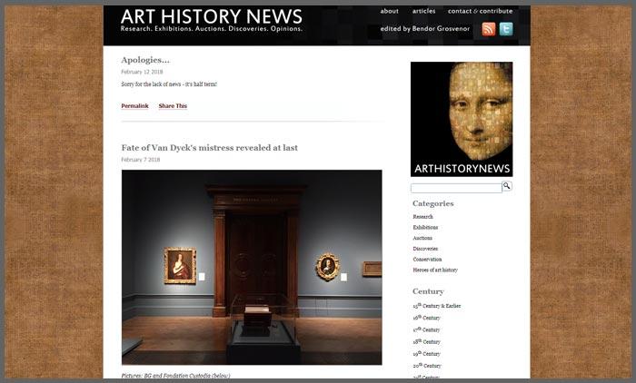 vuelio top 10 art blogs arthistorynews