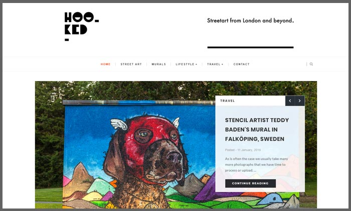 vuelio top 10 art blogs hookedblog