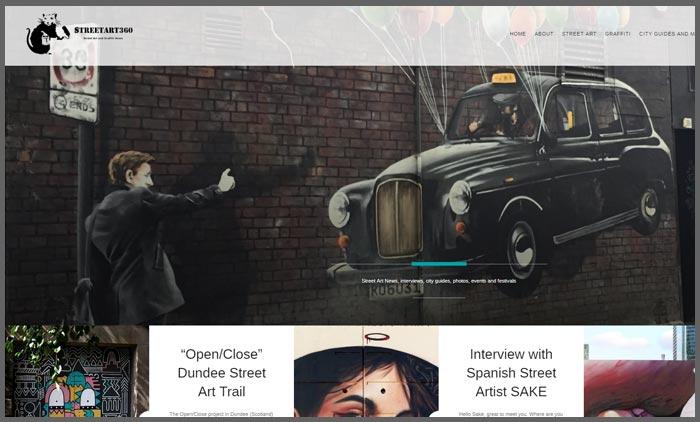 vuelio top 10 art blogs streetart360