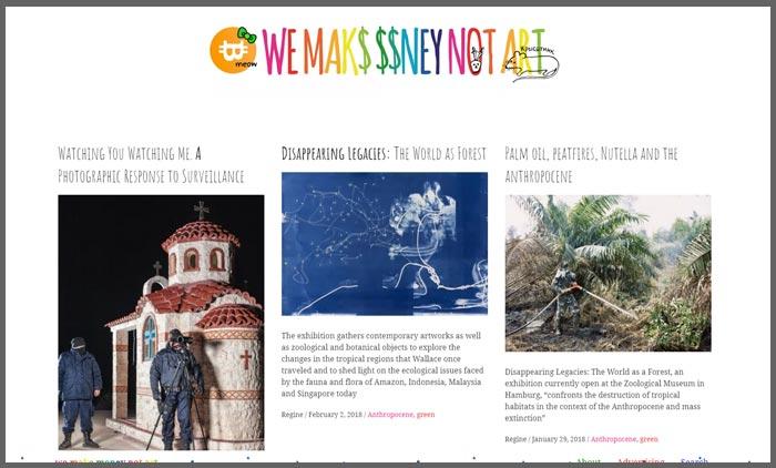 vuelio top 10 art blogs wemakemoneynotart