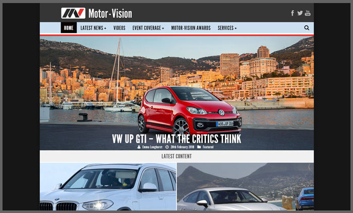 Vuelio top 10 car blogs motorvision